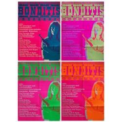 Bonditis 4 affiches 90x128