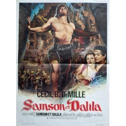 Samson et dalila 40x60