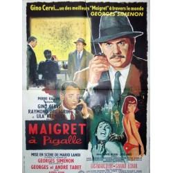 Maigret a pigalle 60x80