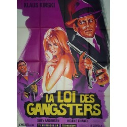 Loi des gangsters (la) 120x160