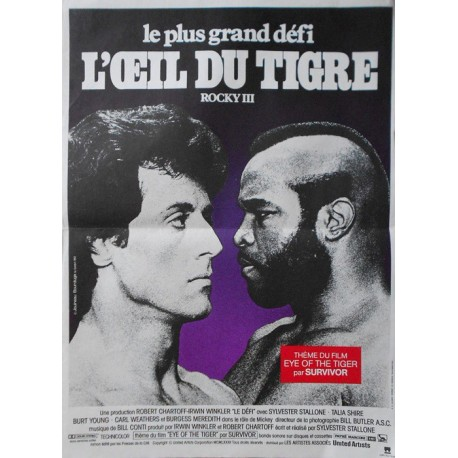 Rocky 3 (loeil du tigre) 120x160