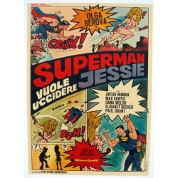Superman,qui veut tuer jessie 100x140