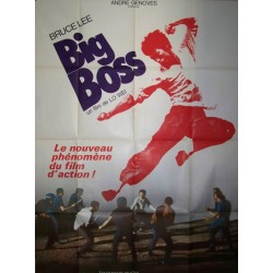 Big boss (bruce lee) 60x80 originale