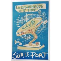 Discothèque Saint Tropez.50x80