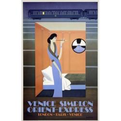 Orient express.61x98 cm