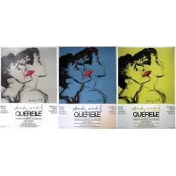 Querelle. set de 3 affiches.70x100