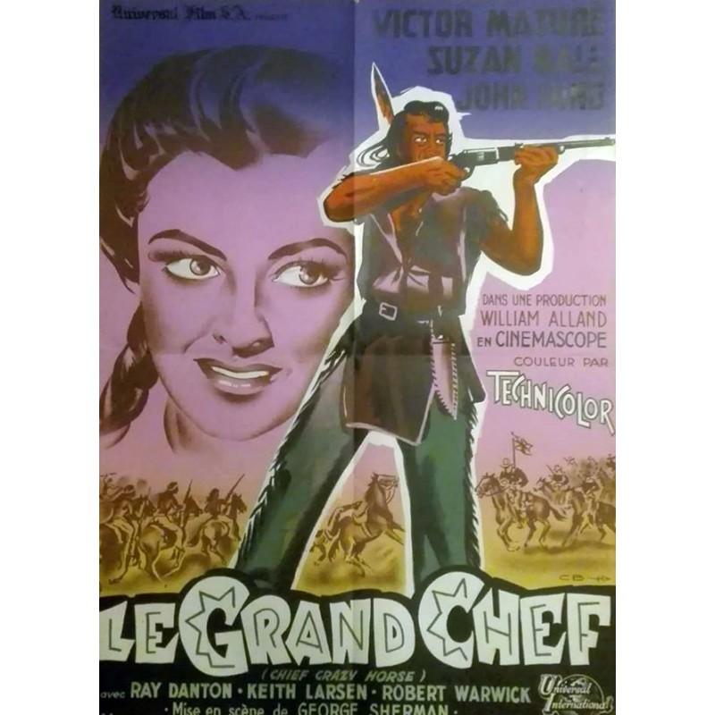 Grand Chef Le 60x80 Affiches De Cinema Anciennes Par Christian