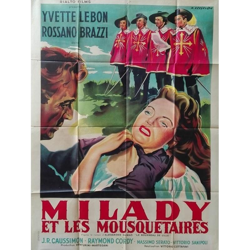 milady et les affiches de cin ma anciennes par christian malbon. Black Bedroom Furniture Sets. Home Design Ideas