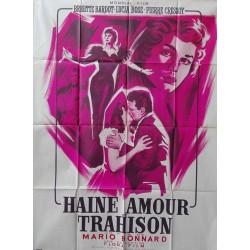 Haine amour et trahison.120x160