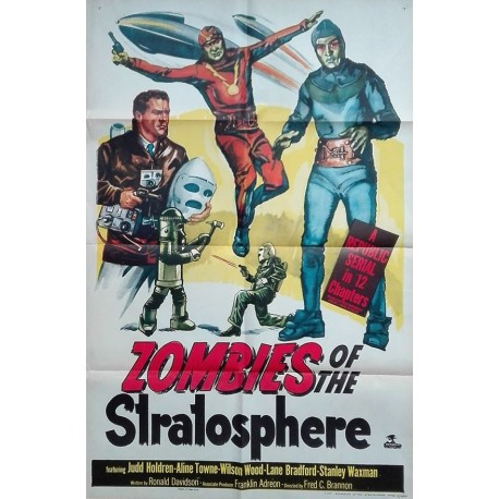 Zombies of the stratosphère.70x100