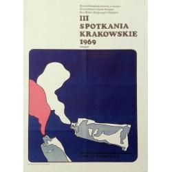 Spotkania Krakowkie 1969 réunions de Cracovie.52x72