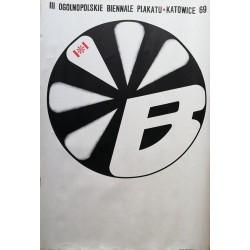 Ogolnopolskie biennale plakatu.68x98