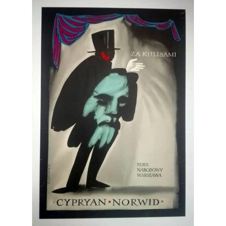 Cypryan Norwid théatre.64x92