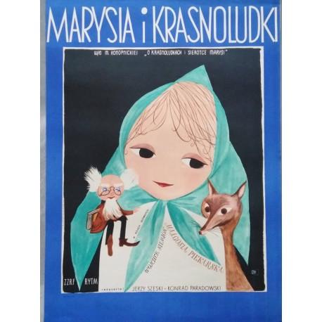 Marysia i Krasnoludki.58x81