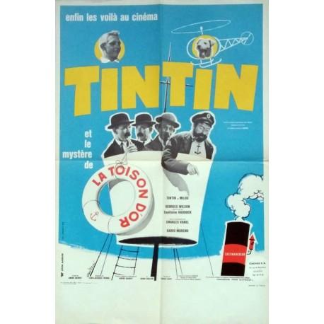 Tintin et le mre de la toison d'or.40x60