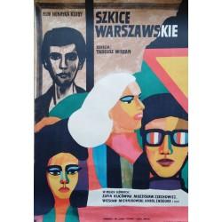 Szkice warszawskie.croquis de Varsovie.57x83